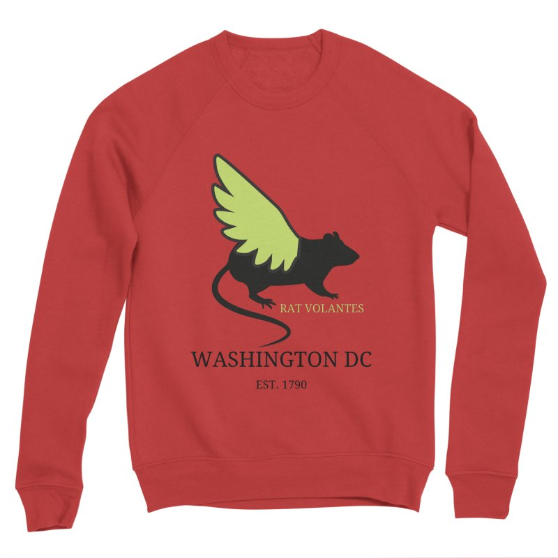 Flying Rat: Washington DC Women's Sweatshirt by avian30