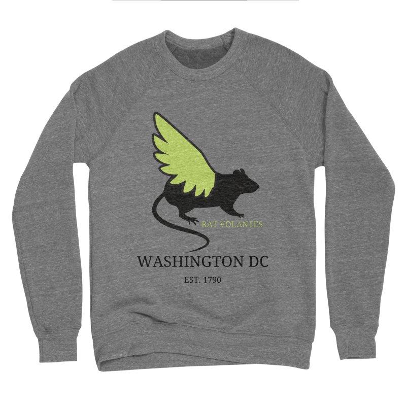 Flying Rat: Washington DC Women's Sweatshirt by avian30