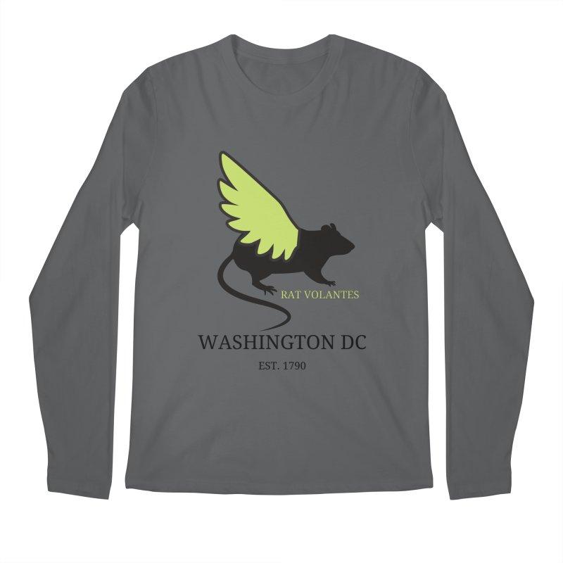 Flying Rat: Washington DC Men's Longsleeve T-Shirt by avian30