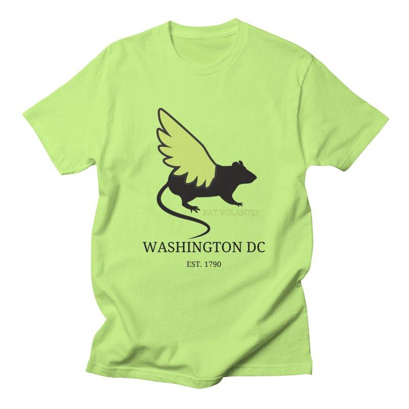 Flying Rat: Washington DC Men's T-Shirt by avian30