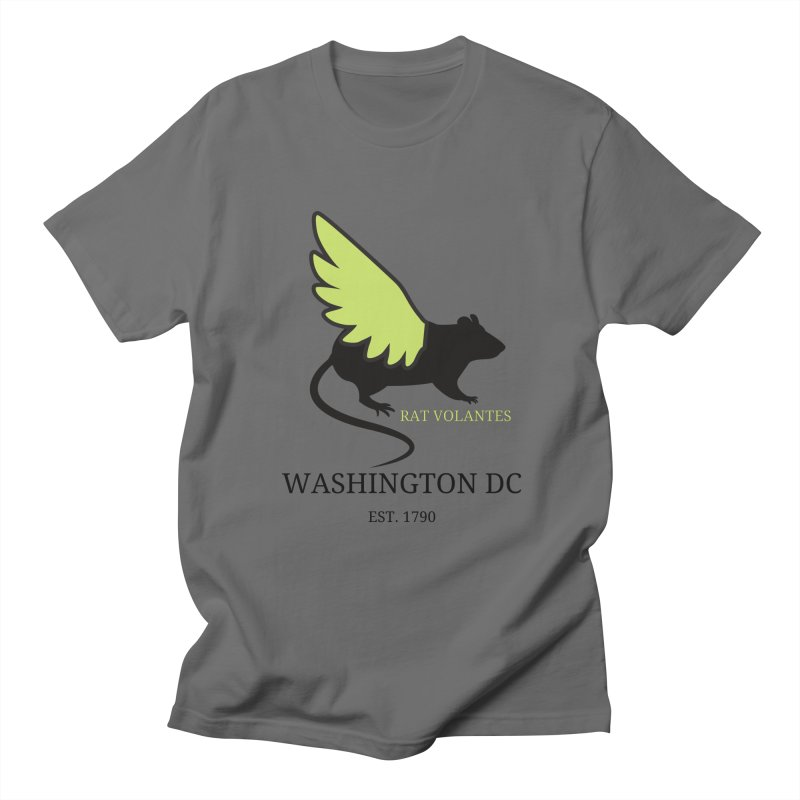 Flying Rat: Washington DC Men's T-Shirt by avian30