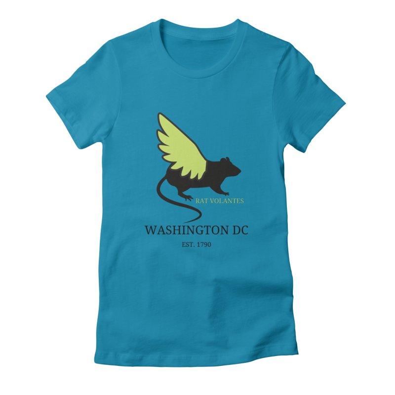 Flying Rat: Washington DC Women's T-Shirt by avian30