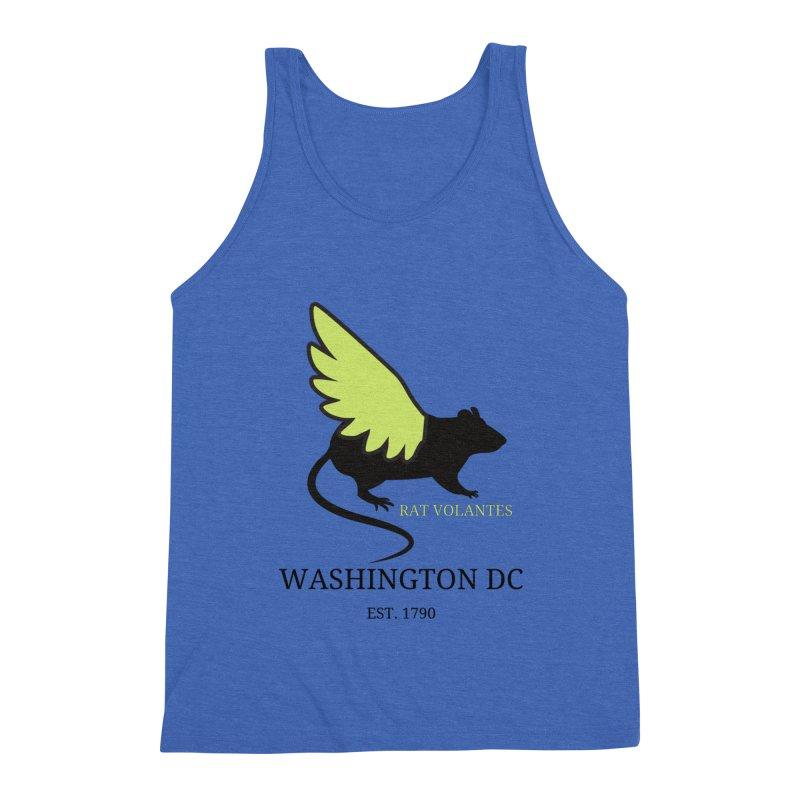 Flying Rat: Washington DC Men's Tank by avian30