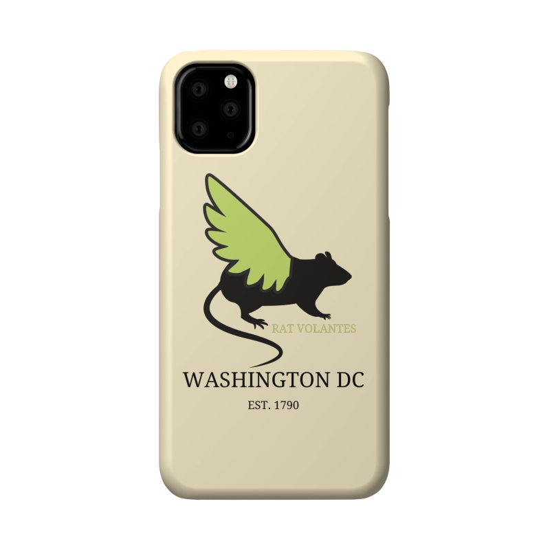 Flying Rat: Washington DC Accessories Phone Case by avian30