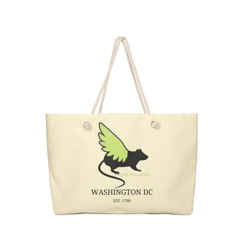 Flying Rat: Washington DC Accessories Bag by avian30