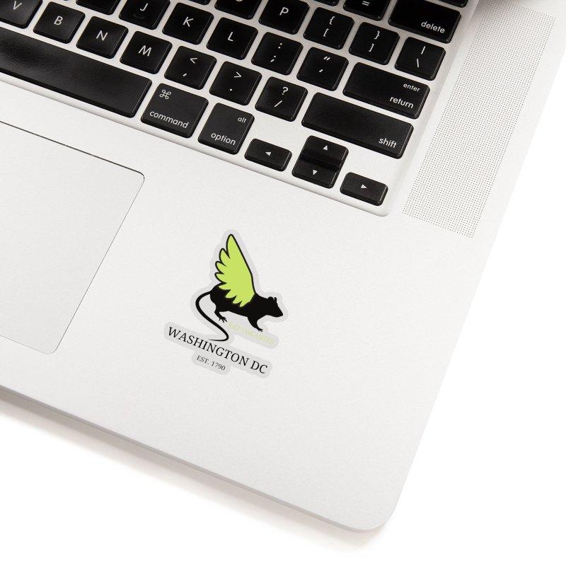 Flying Rat: Washington DC Accessories Sticker by avian30