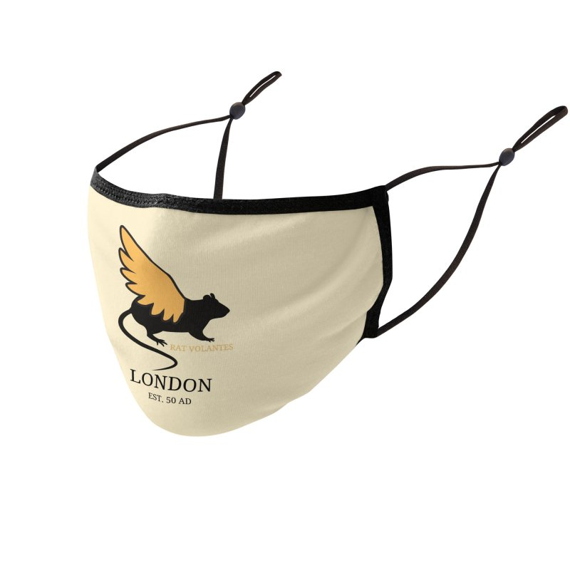 Flying Rat: London Accessories Face Mask by avian30