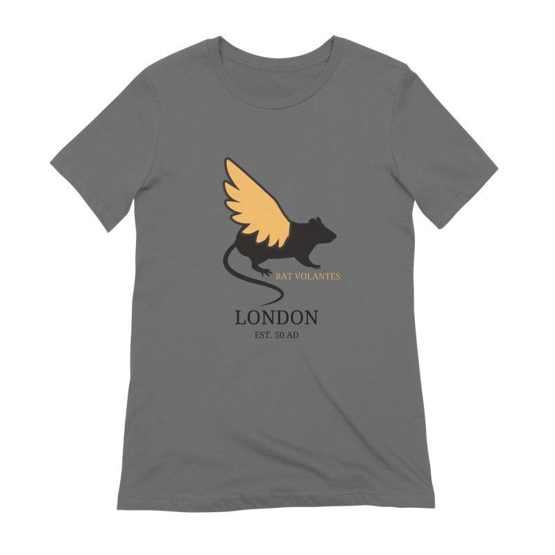 Flying Rat: London Women's T-Shirt by avian30