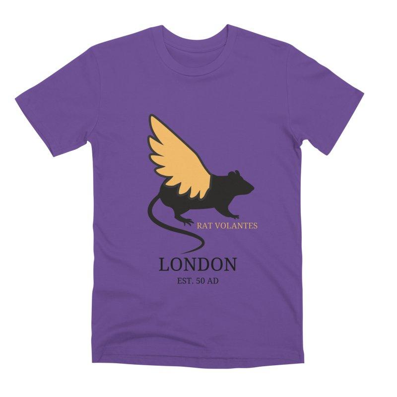 Flying Rat: London Men's T-Shirt by avian30