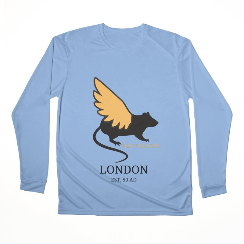 Flying Rat: London Women's Longsleeve T-Shirt by avian30