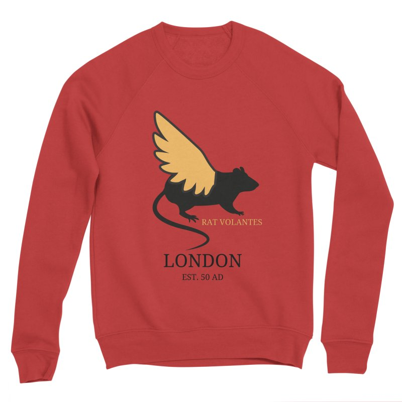 Flying Rat: London Women's Sweatshirt by avian30