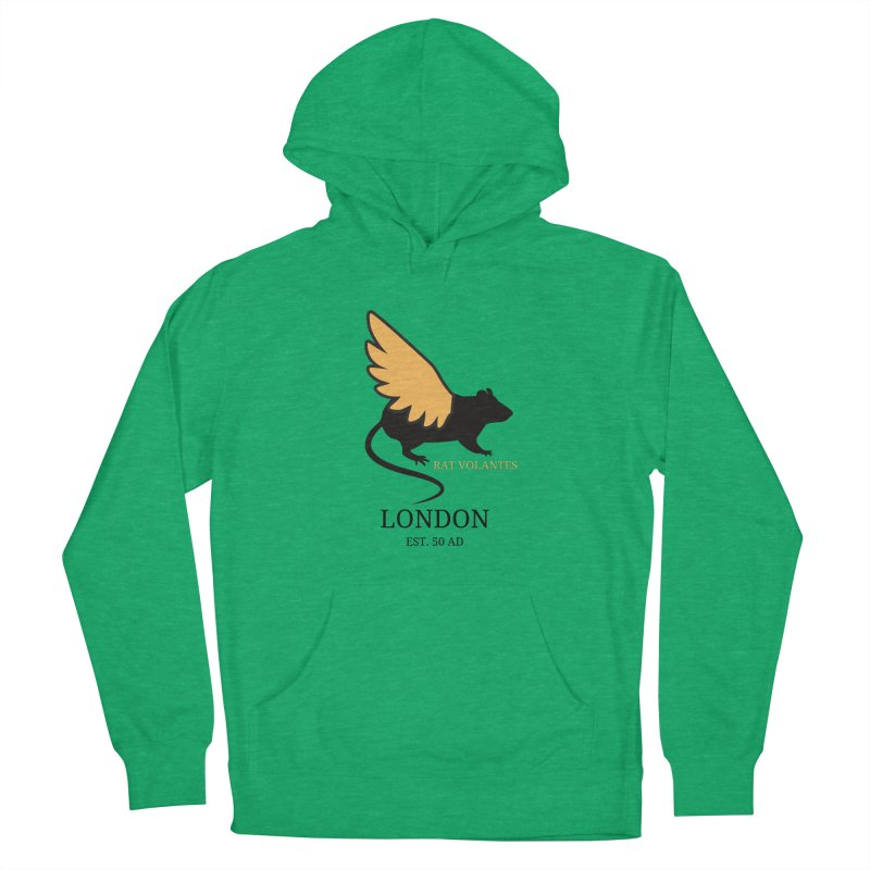 Flying Rat: London Men's Pullover Hoody by avian30