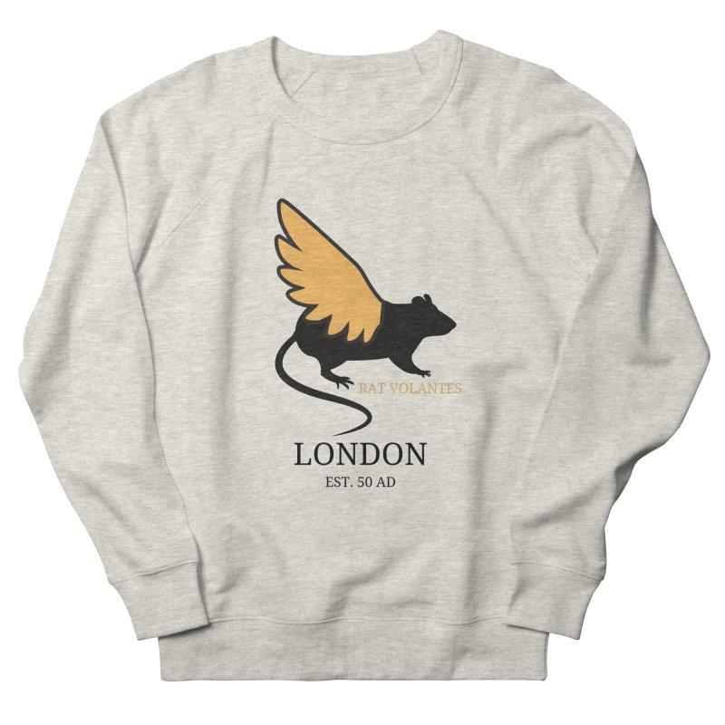 Flying Rat: London Men's Sweatshirt by avian30