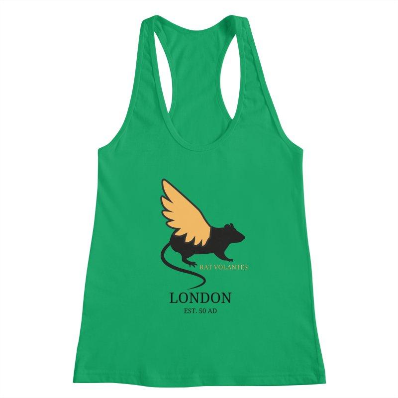 Flying Rat: London Women's Tank by avian30