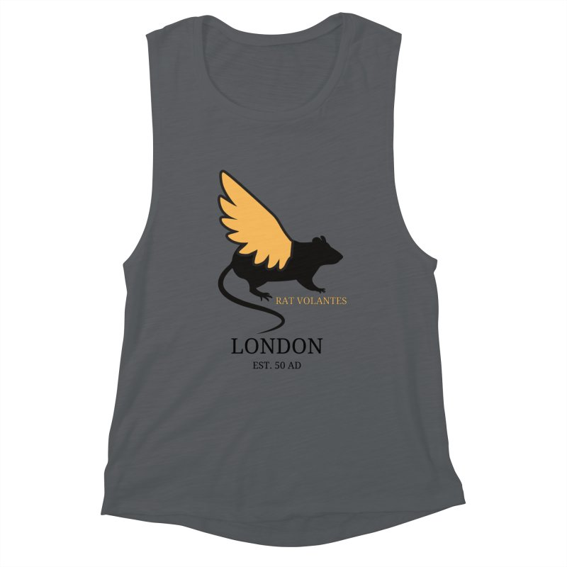 Flying Rat: London Women's Tank by avian30