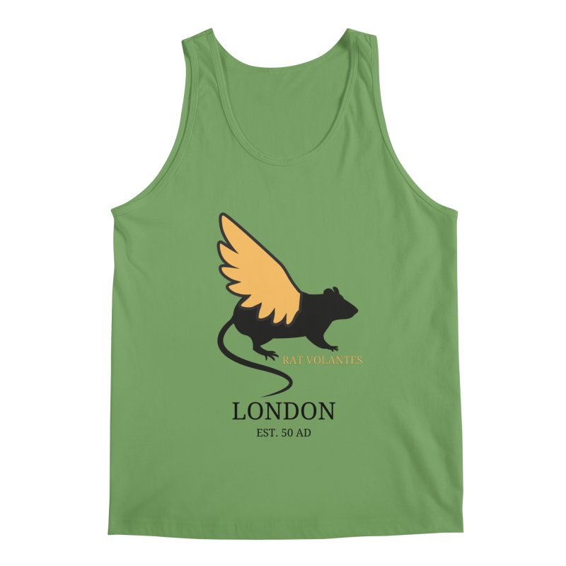 Flying Rat: London Men's Tank by avian30