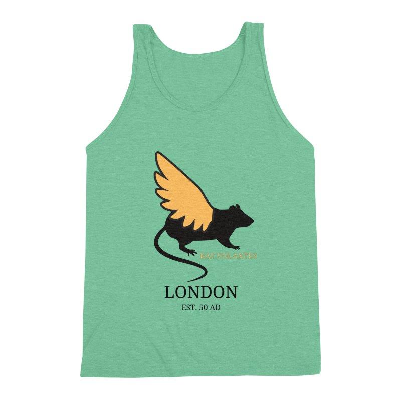 Flying Rat: London Men's Tank by avian30