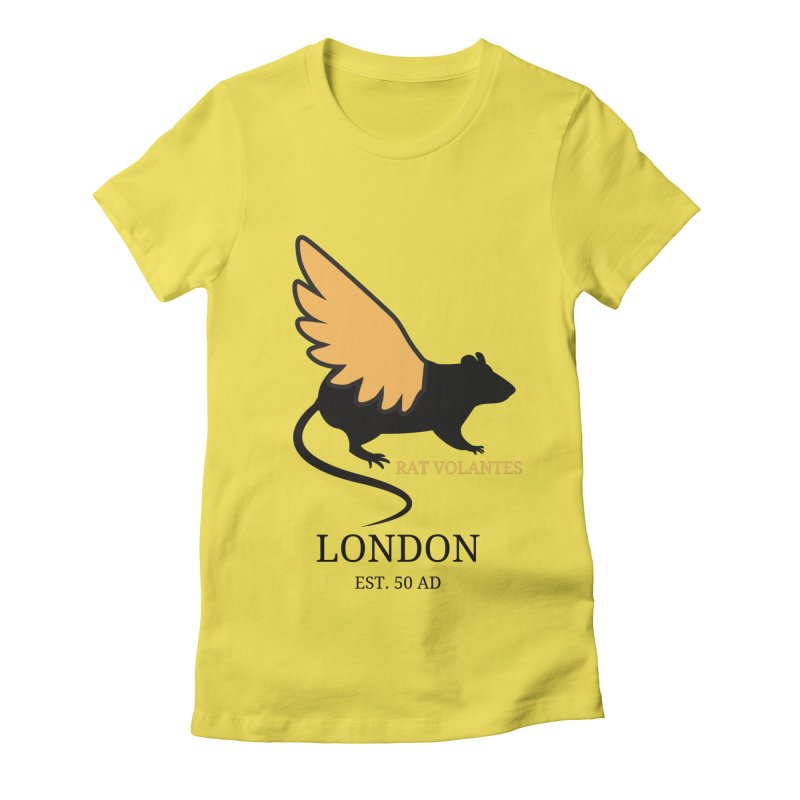 Flying Rat: London Women's T-Shirt by avian30