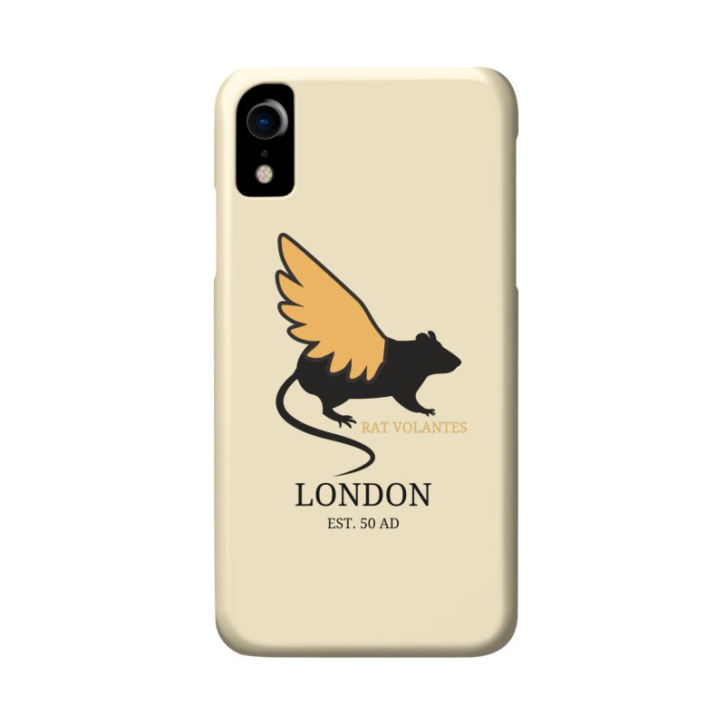Flying Rat: London Accessories Phone Case by avian30