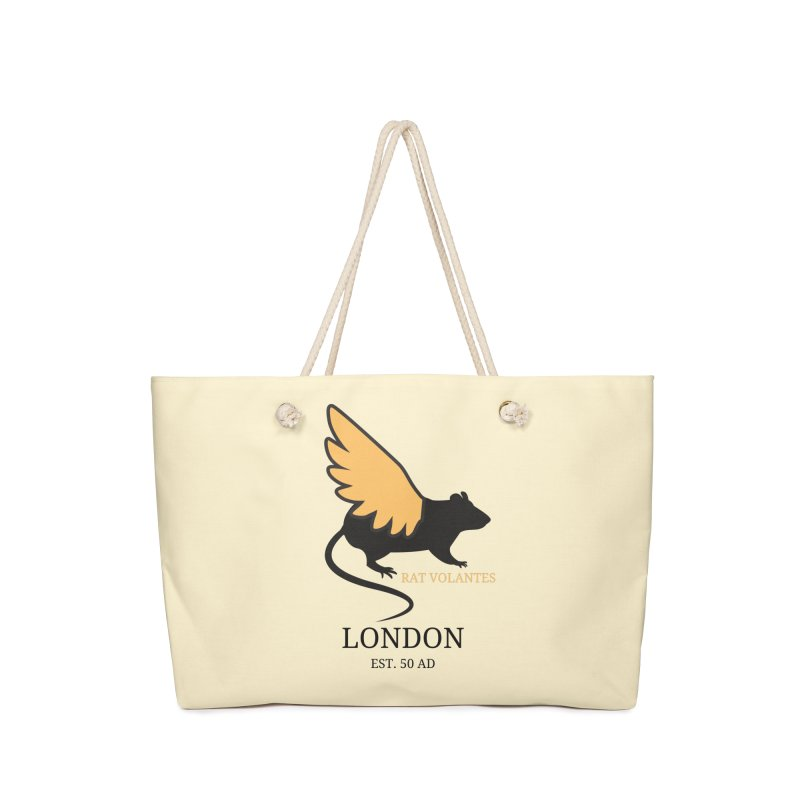 Flying Rat: London Accessories Bag by avian30