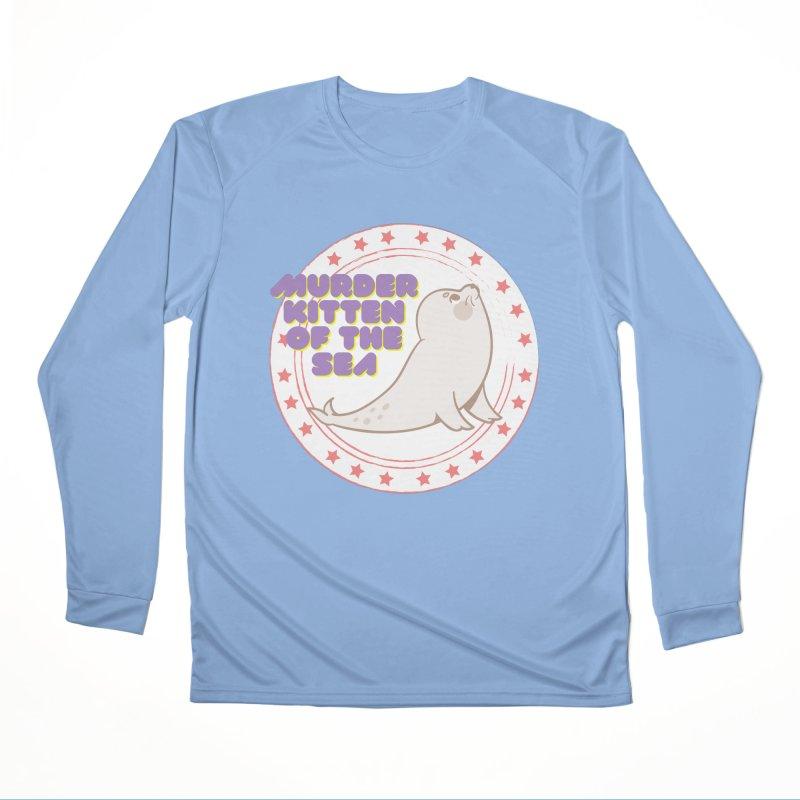 Murder Kitten of the Sea Women's Longsleeve T-Shirt by avian30