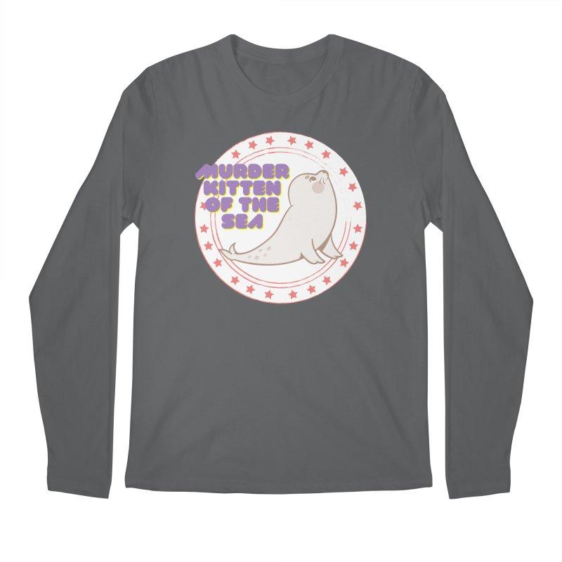 Murder Kitten of the Sea Men's Longsleeve T-Shirt by avian30