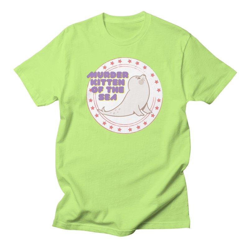 Murder Kitten of the Sea Men's T-Shirt by avian30
