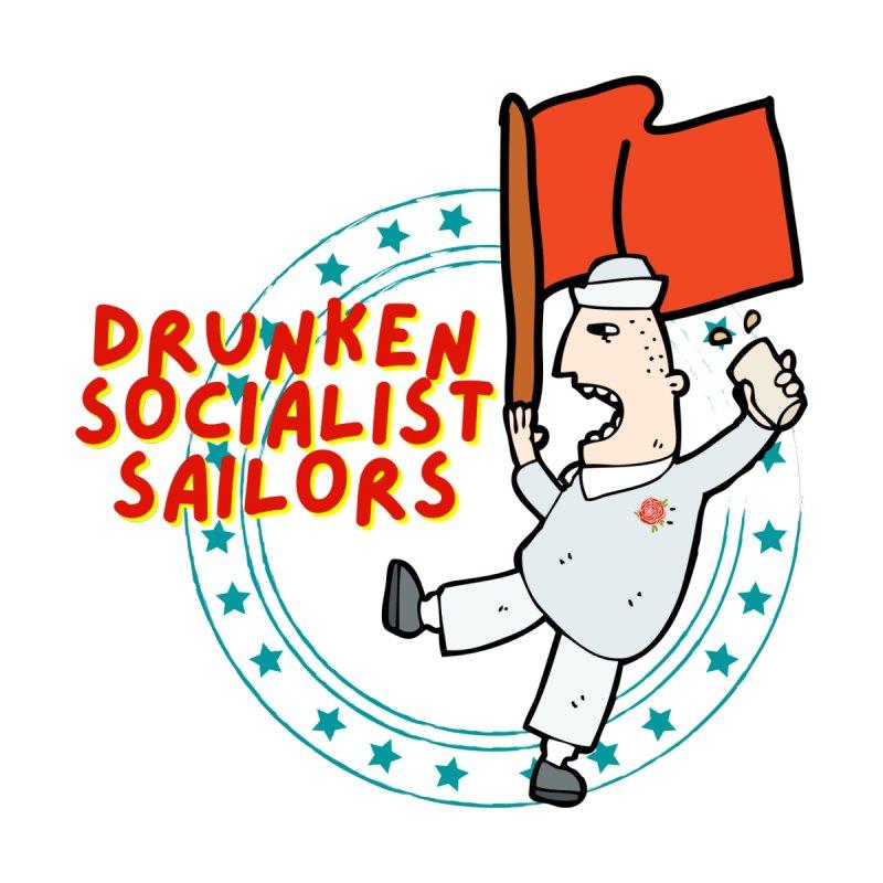Drunken Socialist Sailors Kids T-Shirt by avian30