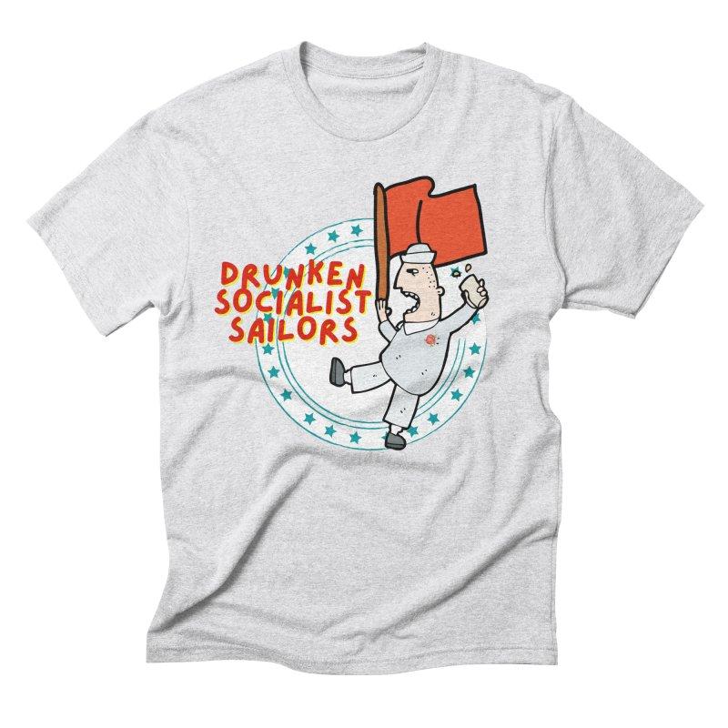 Drunken Socialist Sailors Men's T-Shirt by avian30