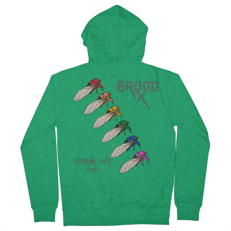 Gay Cicadas Men's Zip-Up Hoody by avian30