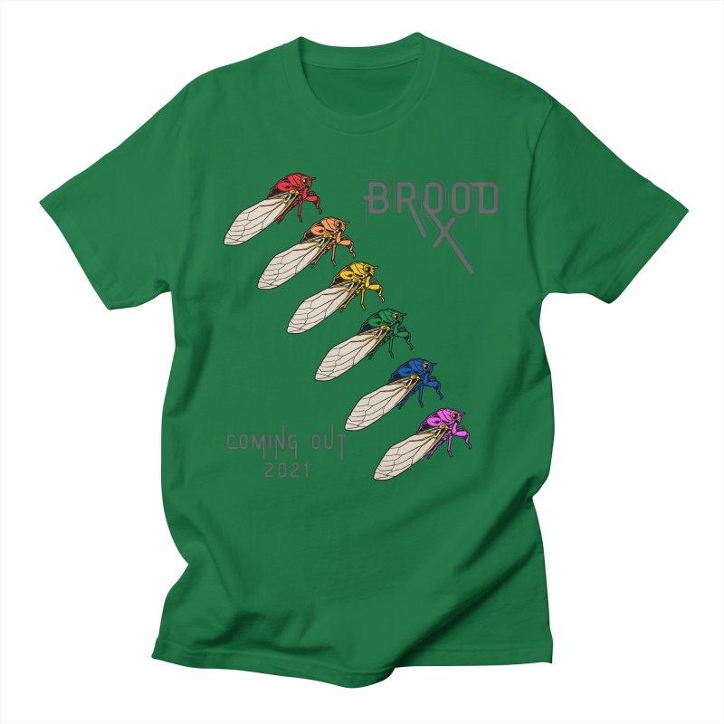 Gay Cicadas Men's T-Shirt by avian30