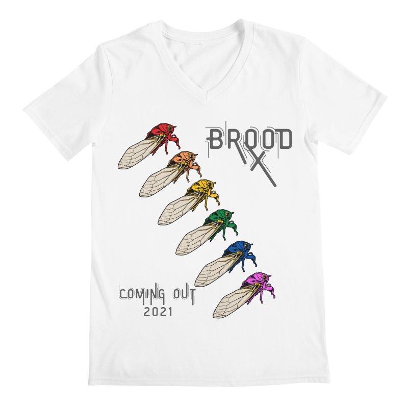 Gay Cicadas Men's V-Neck by avian30