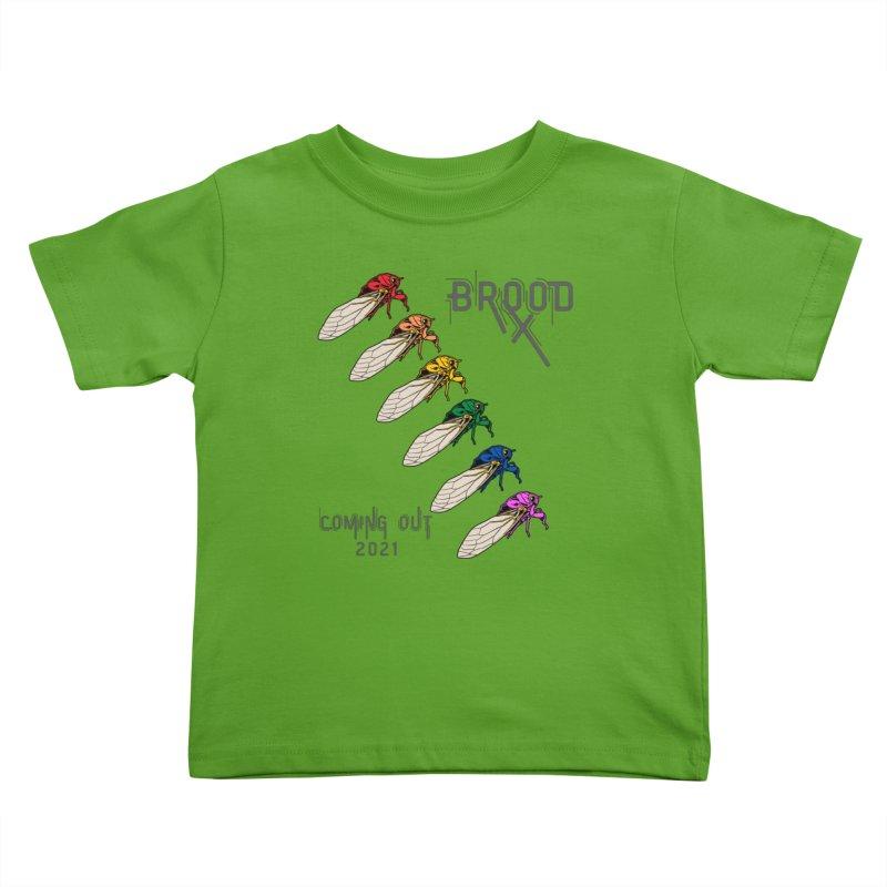 Gay Cicadas Kids Toddler T-Shirt by avian30