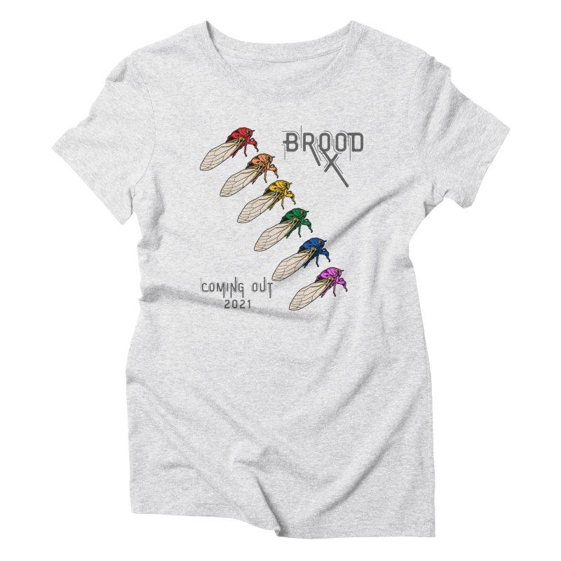 Gay Cicadas Women's T-Shirt by avian30