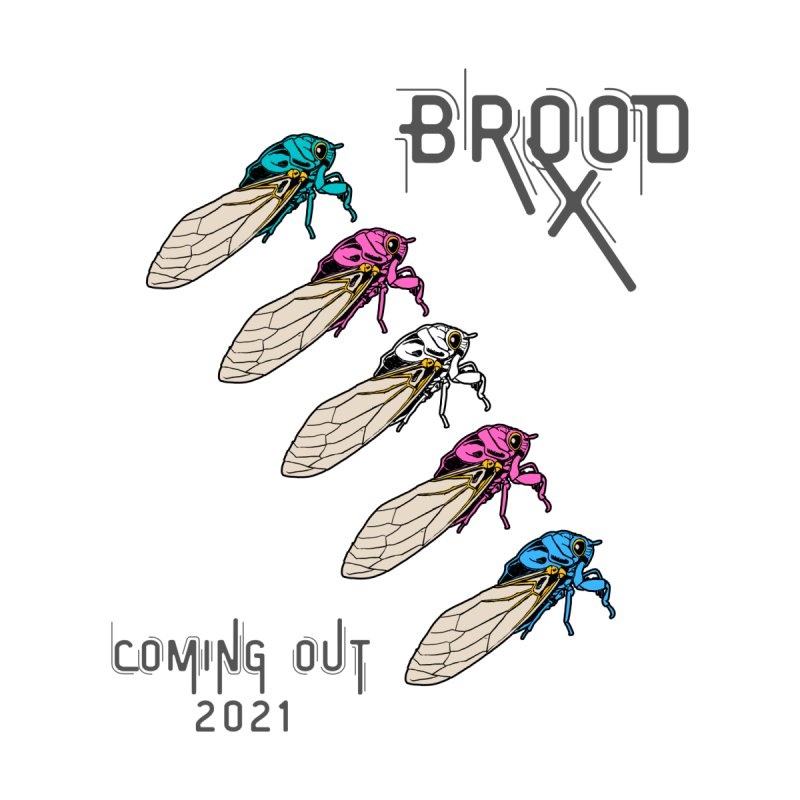Trans Cicadas Women's Zip-Up Hoody by avian30