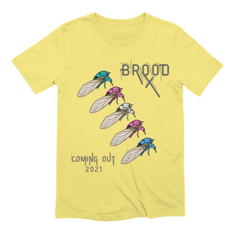 Trans Cicadas Men's T-Shirt by avian30