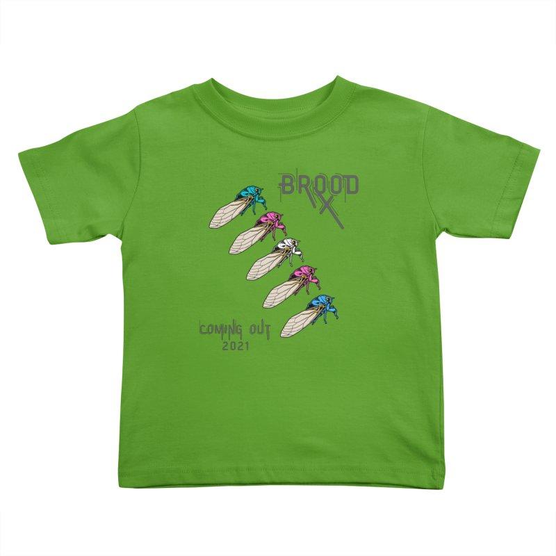 Trans Cicadas Kids Toddler T-Shirt by avian30