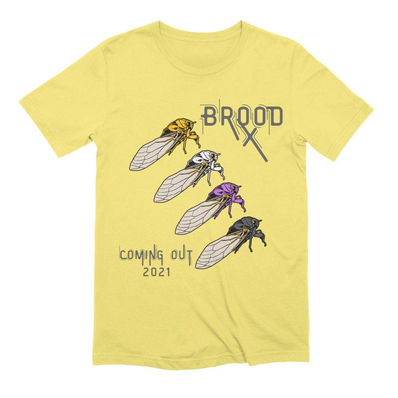 Non-Binary Cicadas Men's T-Shirt by avian30