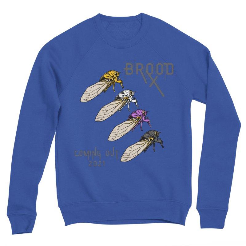 Non-Binary Cicadas Men's Sweatshirt by avian30
