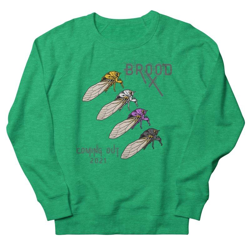 Non-Binary Cicadas Women's Sweatshirt by avian30