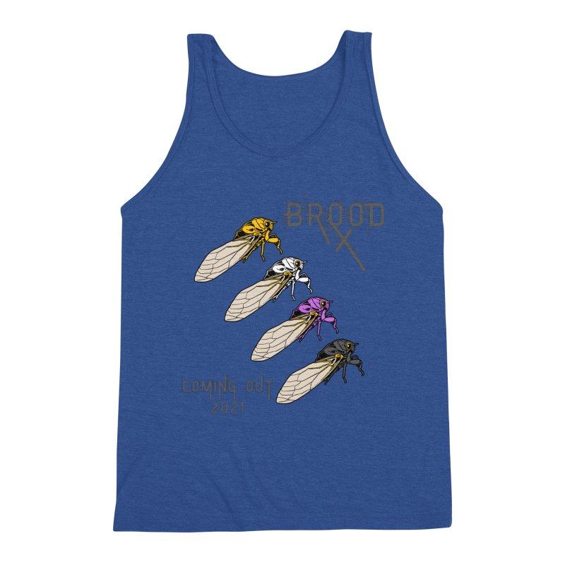 Non-Binary Cicadas Men's Tank by avian30