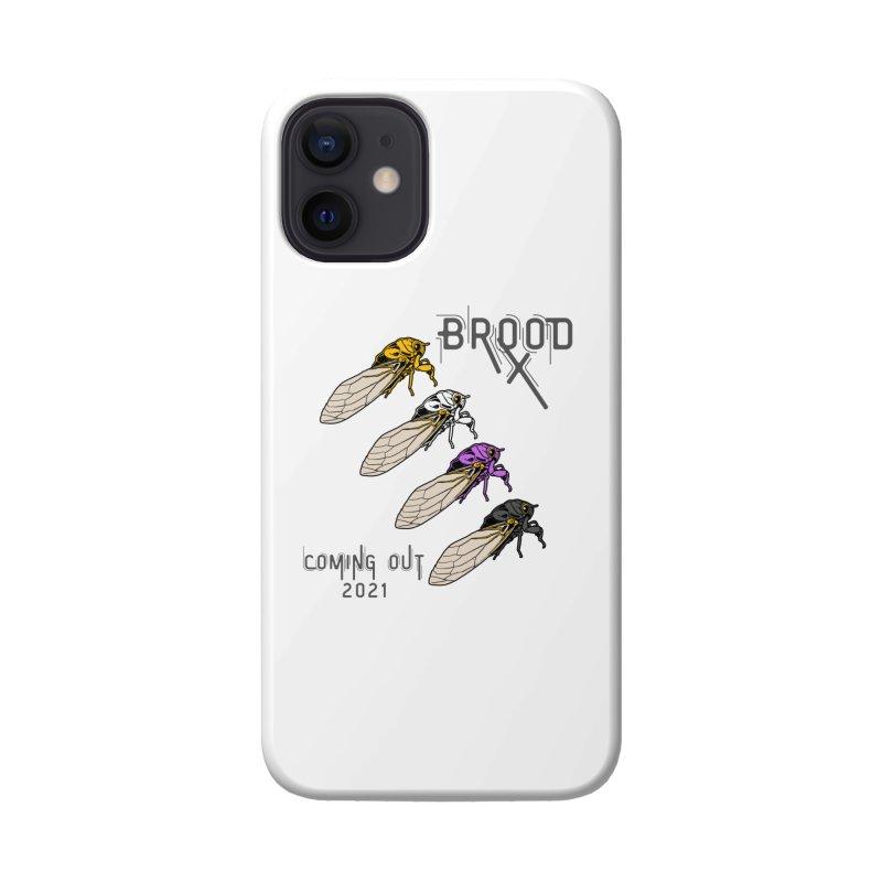 Non-Binary Cicadas Accessories Phone Case by avian30