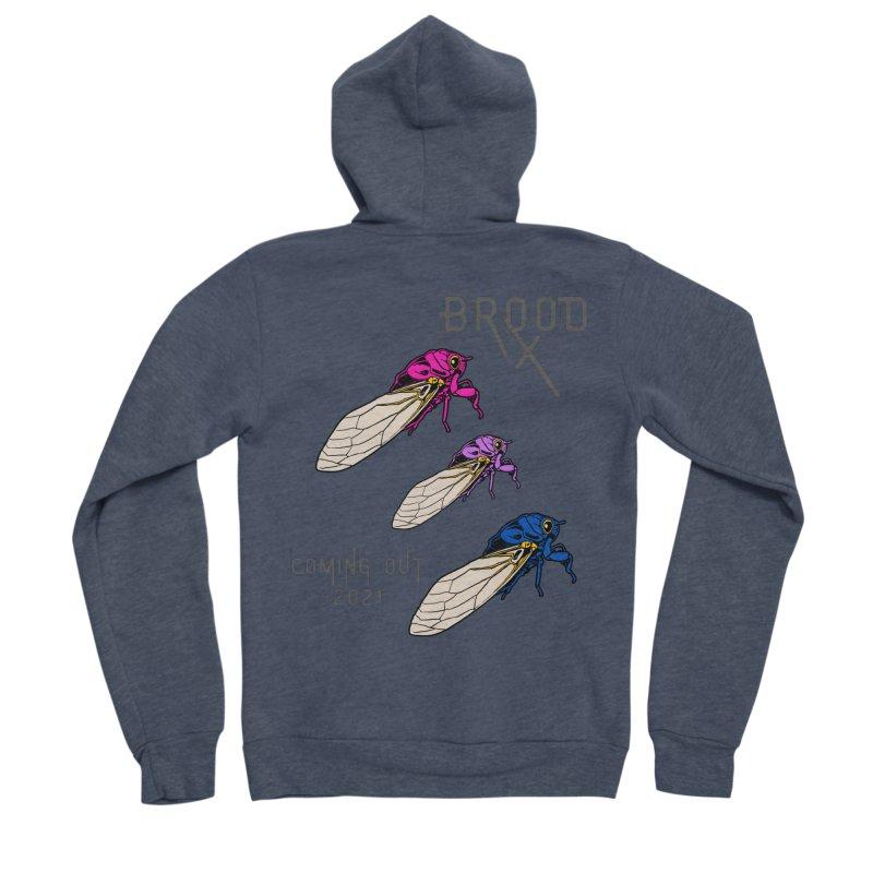 Bisexual Cicadas Women's Zip-Up Hoody by avian30