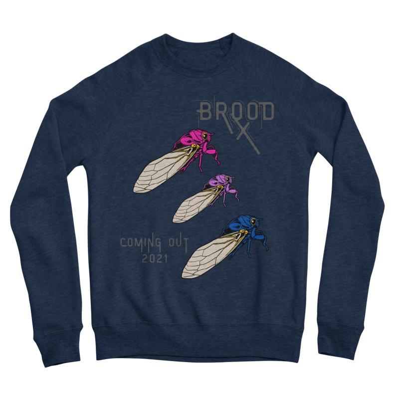 Bisexual Cicadas Men's Sweatshirt by avian30