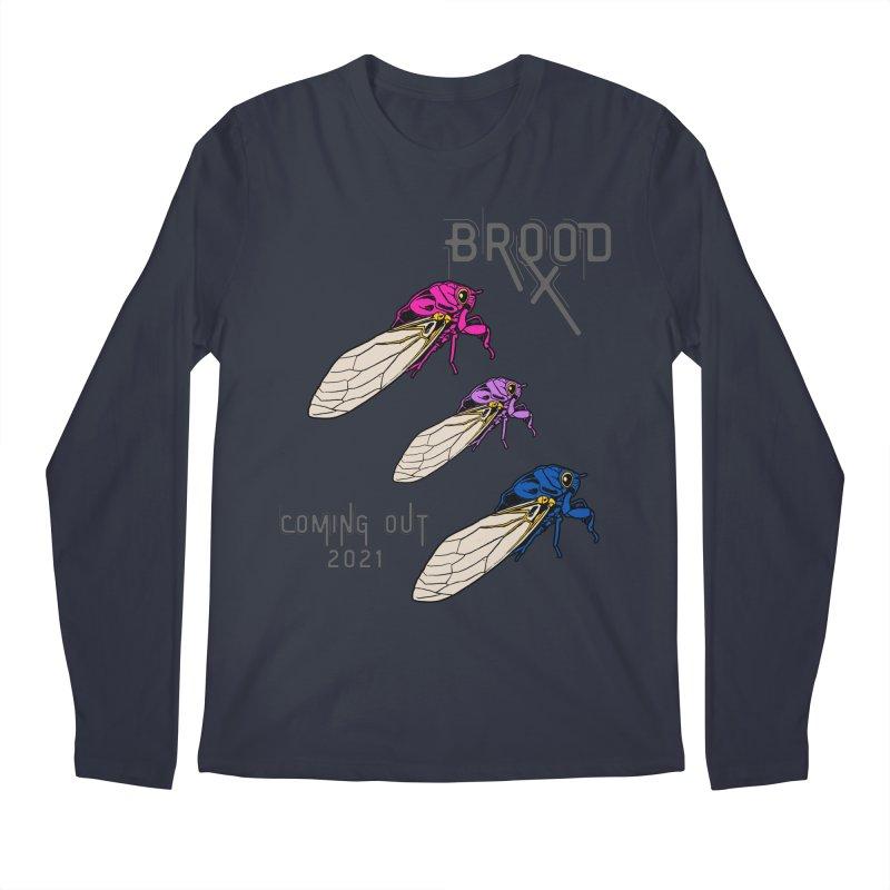 Bisexual Cicadas Men's Longsleeve T-Shirt by avian30