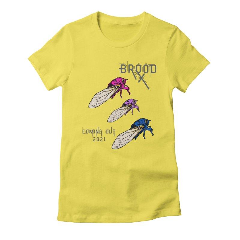 Bisexual Cicadas Women's T-Shirt by avian30