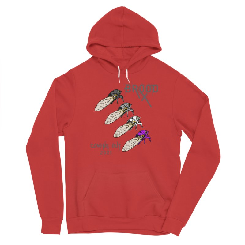Asexual Cicadas Men's Pullover Hoody by avian30