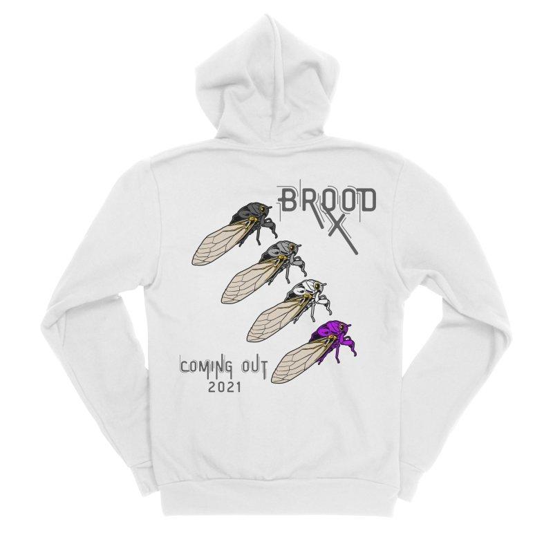 Asexual Cicadas Women's Zip-Up Hoody by avian30