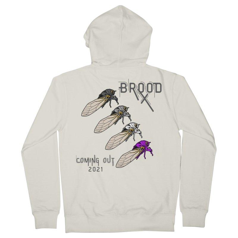 Asexual Cicadas Men's Zip-Up Hoody by avian30
