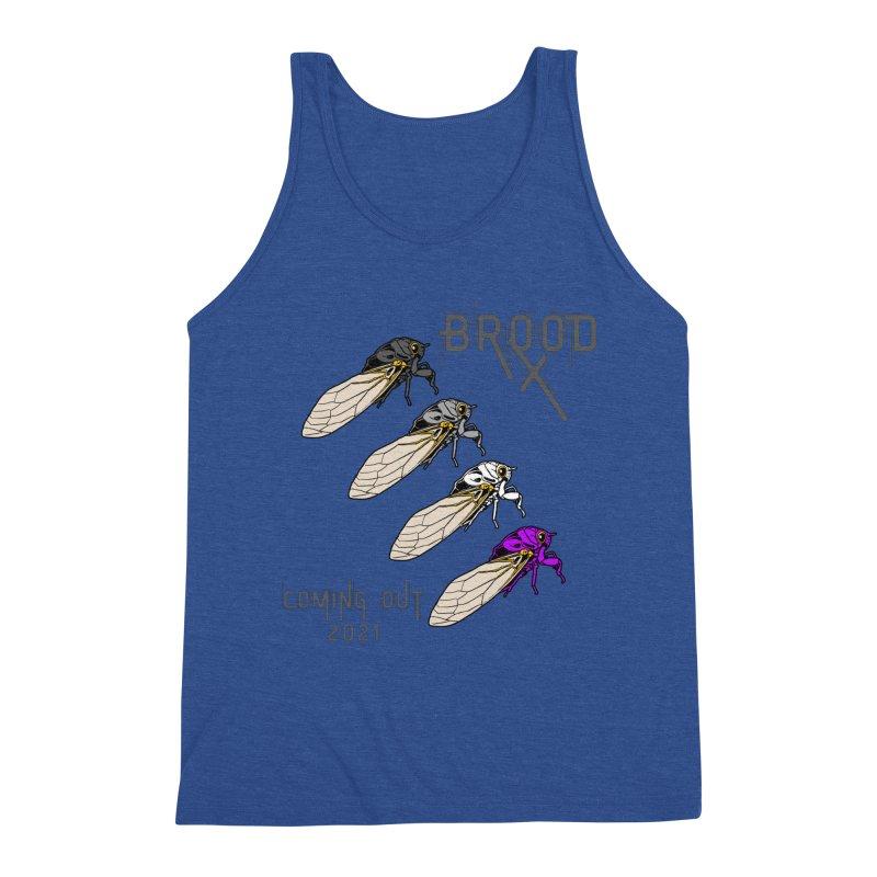 Asexual Cicadas Men's Tank by avian30